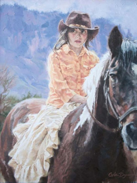 Cowgirl by Carla D'aguanno