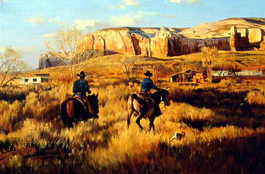 Back To The Ranch by Dino Paravano