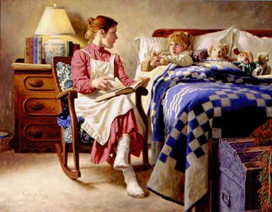 Bedtime Story by Jim Daly