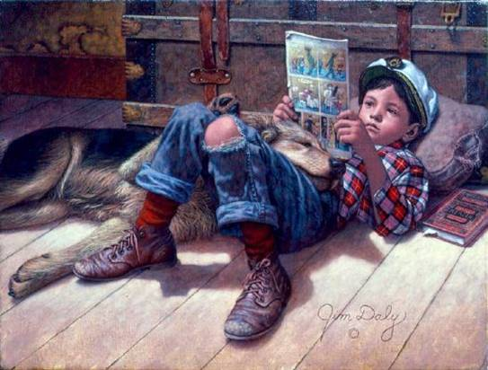 Favorite Reader by Jim Daly