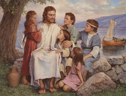 For Such is the Kingdom of Heaven – Suffer the Children by Del Parson