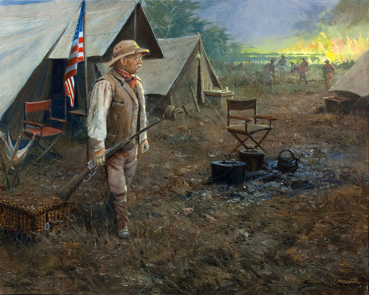 Historic Hunts, North America – Fire in the Lado by John Seerey-Lester