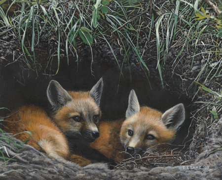 In The Den by Terry Isaac