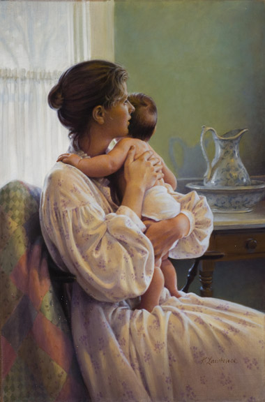 Mother's Arms by Kathy Lawrence