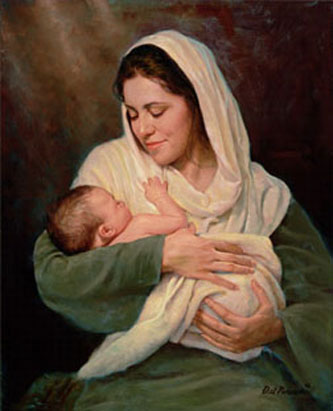 Mother's Love by Del Parson
