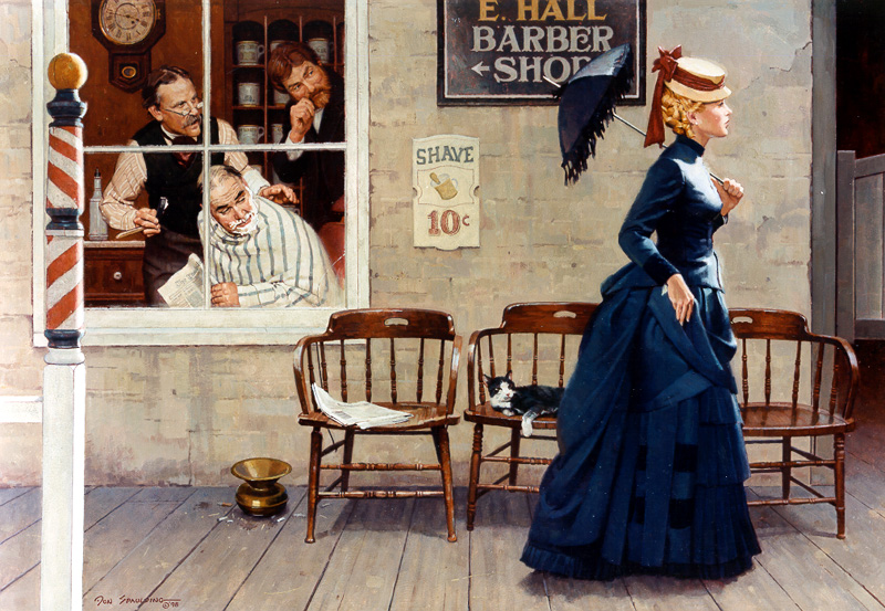 New Gal In Town by Don Spaulding