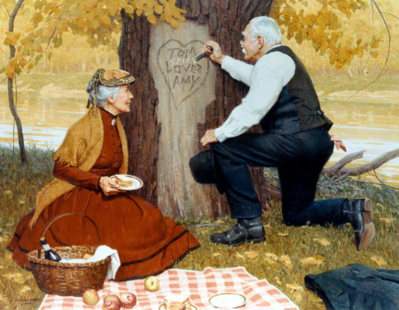 Old Lovers by Don Spaulding
