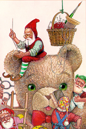 Santa's Elves by Richard Jesse Watson
