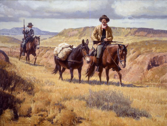 Scouting Party by Don Spaulding