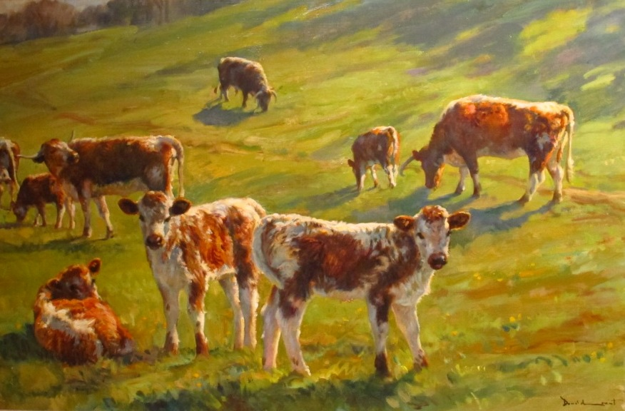 Stoneleigh Cattle by Donald Grant