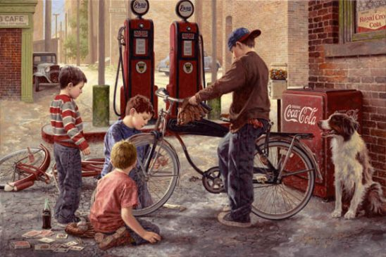 The Bike Patrol by Jim Daly