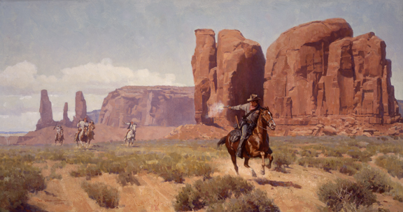 The Dispatch Rider by Don Spaulding