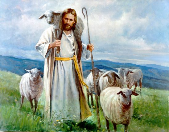 The Good Shepherd by Del Parson