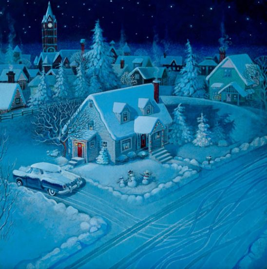Twas the Night Before Christmas by Richard Jesse Watson