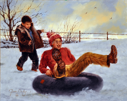 Winter Fun by Jim Daly