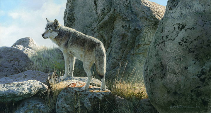 Wolf Spirit by Rod Lawrence
