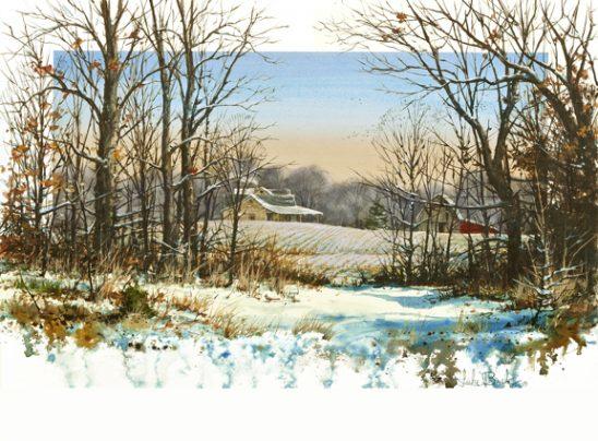 Through the Woods 1042 by Luke Buck