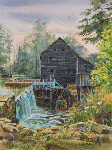 Treasure of History, Yates Mill NC 1442 by Luke Buck