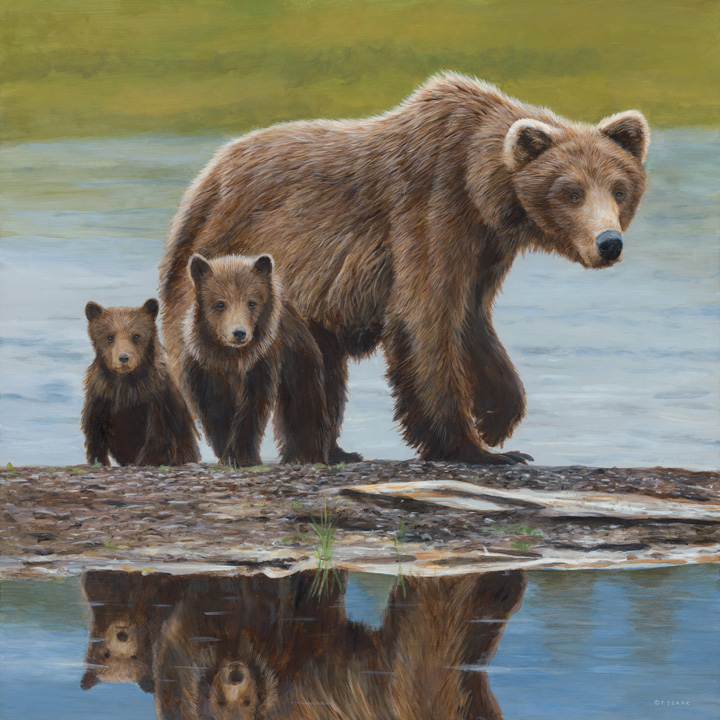 Family Outing by Terry Isaac