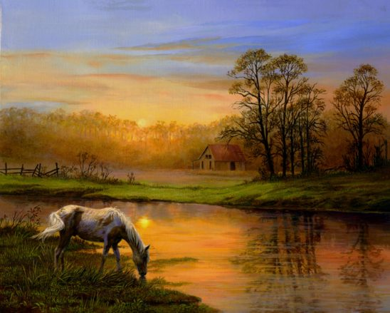 Pastoral Moment by Karla Mann