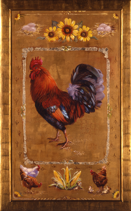 Coq D'Or (Rooster of Gold) By Amy Brackenbury