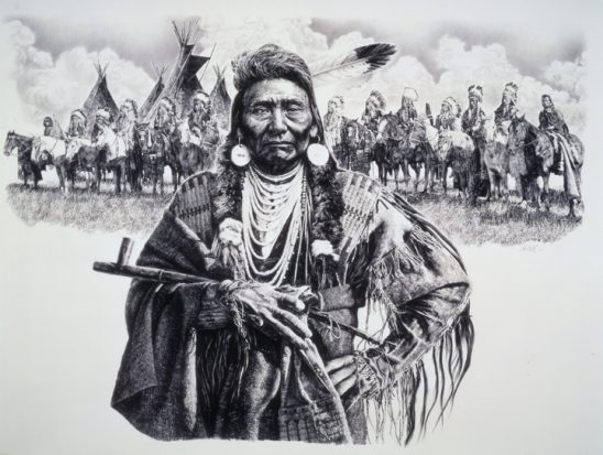 Chief Joseph – Man of Peace by Paul Calle