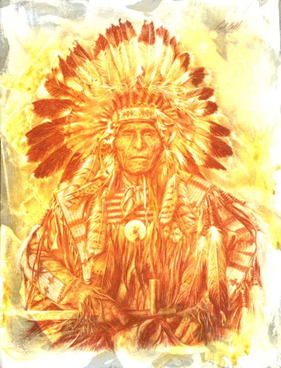 Chief of the Dakota by Paul Calle
