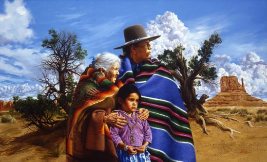 Generations in the Valley by Paul Calle