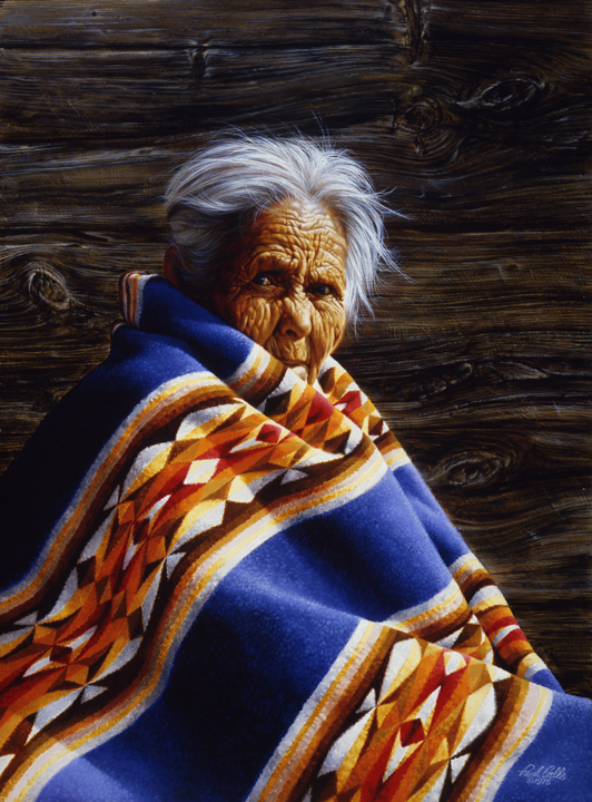 Grandmother by Paul Calle