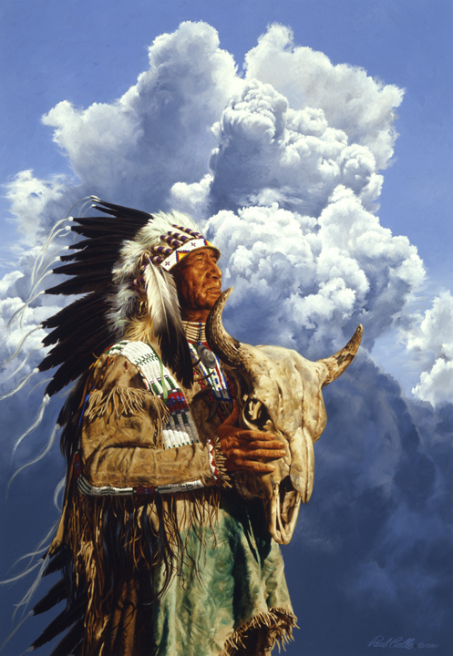 Hear Me O Great Spirit by Paul Calle
