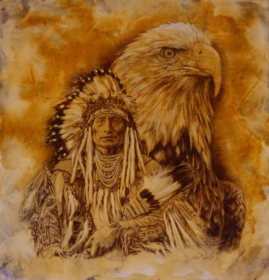 My Brother the Eagle by Paul Calle