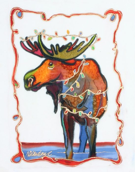 Christmas – Tangle Moose by Nancy Dunlop Cawdrey