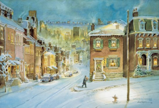 Christmas Eve by Jess Hager