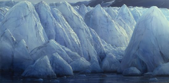 Glacier #1989 by Peter Ellenshaw