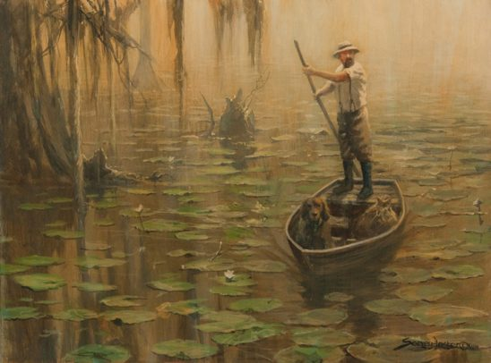 Punting with Ashley by John Seerey-Lester