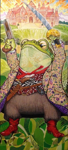 Toad at Toad Hall The Wind in the Willows by Richard Jesse Watson
