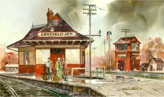 Canfield Train by William Biddle