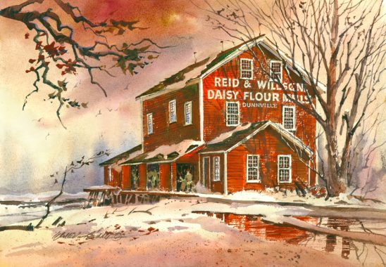 Mills of The Grand Daisy – Flour Mill by William Biddle