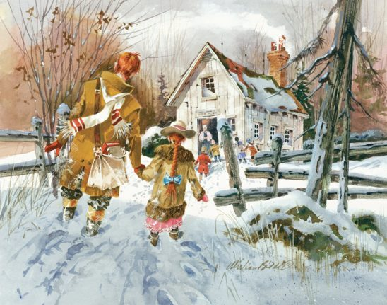 The New Christmas Clothes by William Biddle
