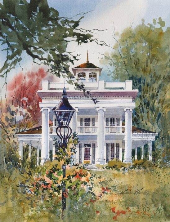 White Mansion by William Biddle