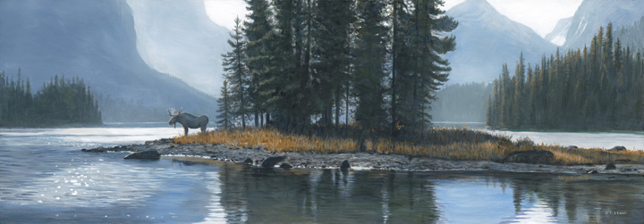 Spirit Island – Moose by Terry Isaac