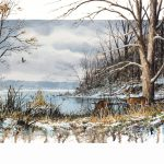Winter at Eagle Creek by Luke Buck