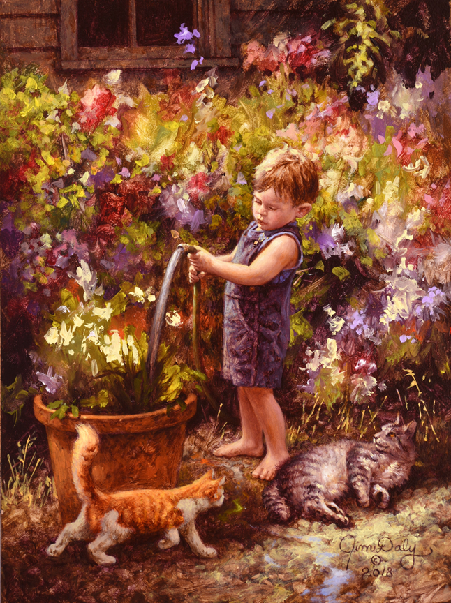 Garden Helpers by Jim Daly