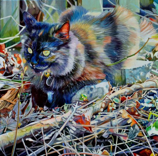 Moca the Super Kitty by Kelly McNeil