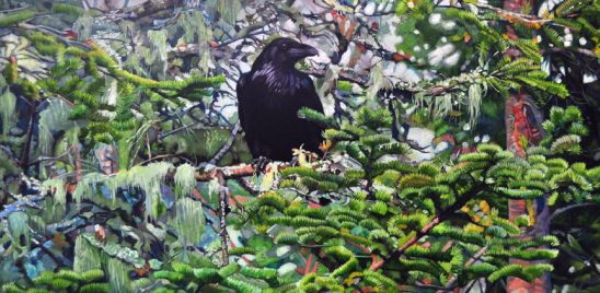 Raven on the Myra by Kelly McNeil