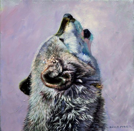 Storm Whisperer – Timber Wolf by Kelly McNeil
