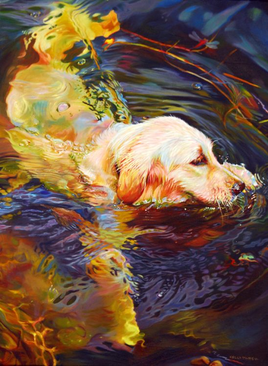 Water Dance 2 by Kelly McNeil
