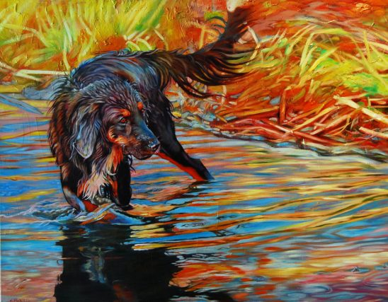 Water Warrior by Kelly McNeil