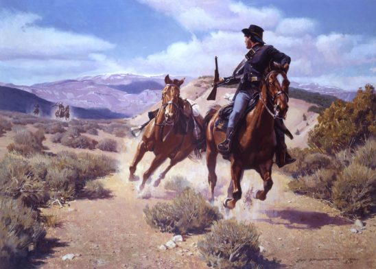 3 Miles to the Fort by Don Spaulding