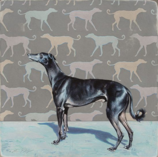 Out of Sight Hound – Greyhound by Andrew Denman